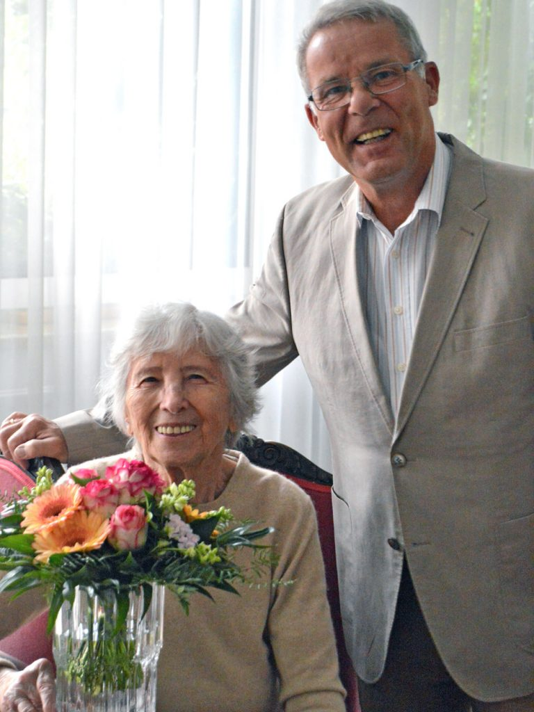 100. Mitglied im Bürgerverein Bleckede